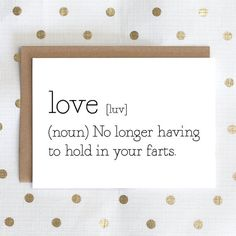 Love Definition No Longer Having To Hold In Your by LochnessStudio