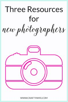 Three of my favorite resources for new photographers that are easily accessible and FREE!