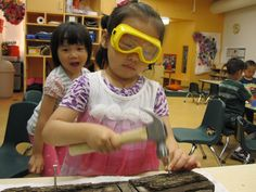 woodworking with preschoolers Wolf, Preschool, Parents, Workshop, Woodworking, Summer Dresses, Children, Safety, Family Kids