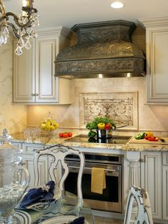types of kitchen tile flooring : tumbled marble kitchen tile floor