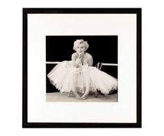 Gerahmter Digitaldruck Marilyn I, 40 x 40 cm Home Living, Black And White, Wall Art, Frame, Character, Home Decor, Jazz, Household, Dance