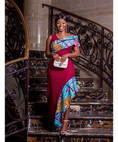 ankara mode Have a ceremony to attend and want to look your best? These beautiful ankara styles for wedding will help you decide what to sew. Ankara Wedding Styles, Ankara Long Gown Styles, Trendy Ankara Styles, Beautiful Ankara Gowns, Beautiful Ankara Styles, African Fashion Ankara, African Print Fashion, African Prints, African Attire