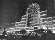 Since a 1936 fire destroyed the Crystal Palace on Penge Common, near Sydenham Hill in south-east London, the building that once housed the 1851 Great Exhibition has never been rebuilt. Exhibition Building, Exhibition Space, Crystal Palace, Hyde Park, Croydon Airport, Tower Block, Palace London, Glass Structure, History