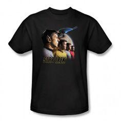 Star Trek 'Forward to Adventure' T-Shirt - Black