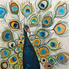 Peacock - Metallic Pearl White - Eli Halpin