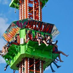 Central Carolina Fair - Roller Coasters - Enjoy a lot of different rides and attractions with your friends and family at the Central Carolina Fair