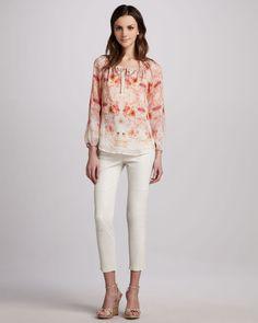http://ncrni.com/graham-spencer-flora-georgette-peasant-blouse-stretchleather-capri-pants-p-3500.html