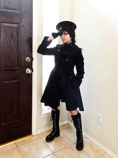 Military Ouji...or at least that's what I like to call it - Daily Lolita Coordinates