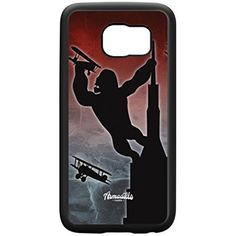 King Kong Black Silicon Rubber Case for Galaxy S6 Edge by Gadget Glamour   FREE Crystal Clear Screen Protector ** Want to know more, click on the image. (This is an affiliate link) #CasesHolstersClips