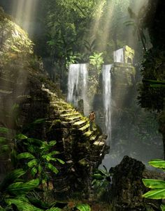 Image result for uncharted waterfall