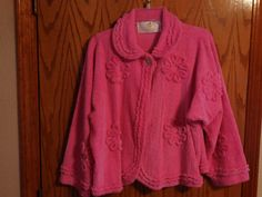 Adorable Vintage Stan Herman Bright PINK by ChenilleGalore on Etsy