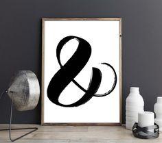Ampersand Wall Art swiss cross wall art swiss cross decor swiss cross printable sign