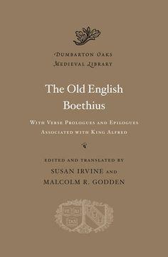 The Old English Boethius - Harvard University Press