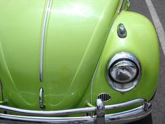 green apple vw bug