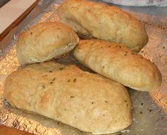 Easy Peasy No Yeast Italian Bread Recipe, Makes Great Sandwich Rolls + A YUMMY Dinner Idea