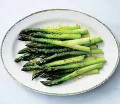 Plus Rapoport shares his favorite, simple way to dress the first asparagus of spring.