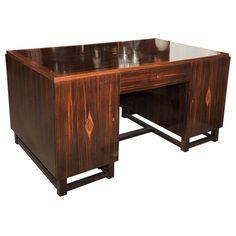 French Macassar Desk