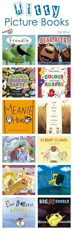 NEW hilarious picture books