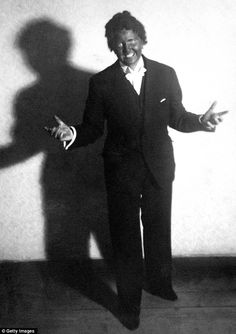 Hitler's mistress Eva Braun in blackface as Al Jolson, 1937, yikes