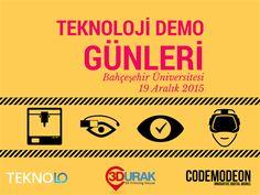 Teknoloji Demo Günler, biletino, 3Durak