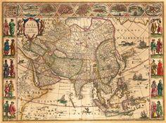 1638 Asia, Guiljelmus Blaeu