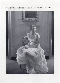 Chanel 1930 Evening Gown, Photo Edward Steichen