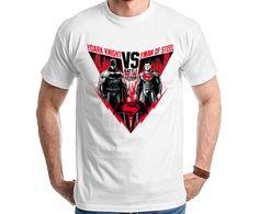 Batman Vs Superman - Battle for Gotham City Camiseta T Shirt Camisa Tee