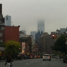 Freedom Tower as seen on 7th Ave