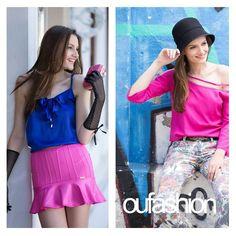 Pink fashion, para encher de feminilidade o look de quinta-feira! #oufashion #pink #color #fashion #cute #inverno2015