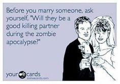 wedding meme - zombie apocalypse