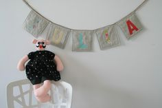 Pretty Handmade BCN: Baby gifts for Júlia