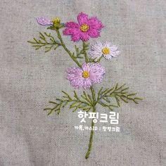 Vintage Botanical Embroidery