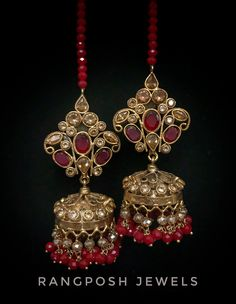 Jhumka Designs, Rangoli Designs, Gold Plated Earrings, Indian Jewelry, Plating, Mini, Bracelets, Jewellery, Bangles