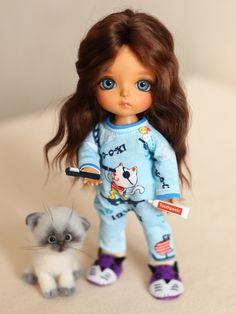 Однажды утром или свитер для мистера Панды, предыстория / BJD - шарнирные куклы БЖД / Бэйбики. Куклы фото. Одежда для кукол