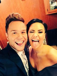 Demi Lovato and Olly Murs wouldn't they make an cute couple #Yazz
