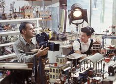 Charles and Ray Eames office