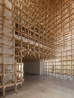 Wood is one of the most common and timeless building materials, however, the way in which it is used in Kengo Kuma's GC Prostho Museum brings forth an orderly construction logic not typically…