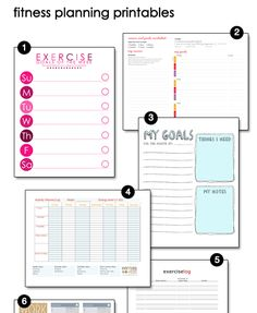 Track Your Progress It's very encouraging to keep track of your exercise each week — and to see the progress you are making over time. You can use something like Nike+ or log your exercise on a site like SparkPeople. If you're more of a pen and paper person, you can use one of these free Fitness Planning Printables.