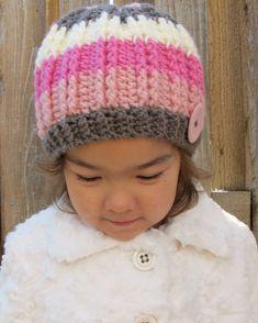 CROCHET PATTERN  The Neapolitan  crochet hat pattern