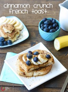 Cinnamon Crunch French Toast
