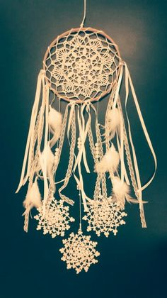 Mandala Filtro Magico dos Sonhos - Feito pela artesã Lourdes Ferreira para um momento muito especial! Amo!