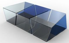 Coffee Table Yung - Roche Bobois Collection 2013 Sacha Lakic Design