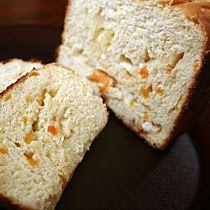 Pão de Damasco e Chocolate Branco