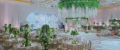 A Romantic Green and White Beverly Wilshire Wedding - International Event Company Luxe Wedding, Sunset Wedding, Cruise Wedding, Successful Marriage, Event Company, Chuppah, Edge Design, Beautiful Gardens, Wedding Designs