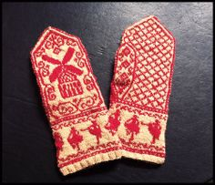 More of the Moulin Rouge mittens | Flickr - Photo Sharing!