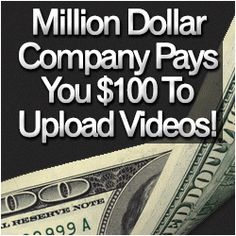 All you've got to do is upload videos to YouTube and you will get paid by million dollar companies. These companies will pay YOU to upload T...