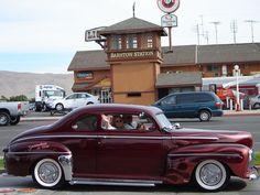 """1942 ford late '50's Custom. Fullerton, Ca. """"keep on cruzin"""""""