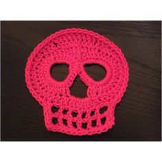Crochet skull can you get me the patronen of this skull ? need it for decorations at school thank you
