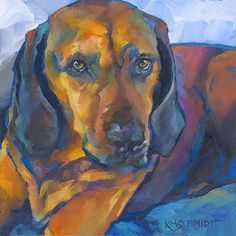 Just Animal Pet Art Paintings by Louisiana Artist Karen Mathison Schmidt *would…