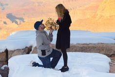 Loving this proposal at the Grand Canyon: